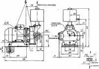 Насос вакуумный водокольцевой ВВН2-0,75