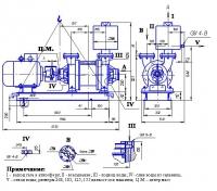 Насос вакуумный водокольцевой ВВН-3Н