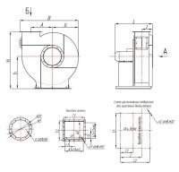 Вентилятор центробежный ВЦ 5-35