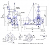 Агрегат водокольцевого вакуум-насоса ВВНЭ-6/20М1
